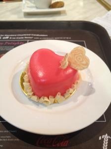 petite sweetheart cheesecake